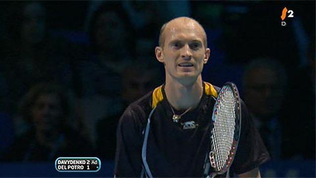 Tennis / Masters (finale): Davydenko - Del Potro / l'initiative du Russe contre les aces de l'Argentin