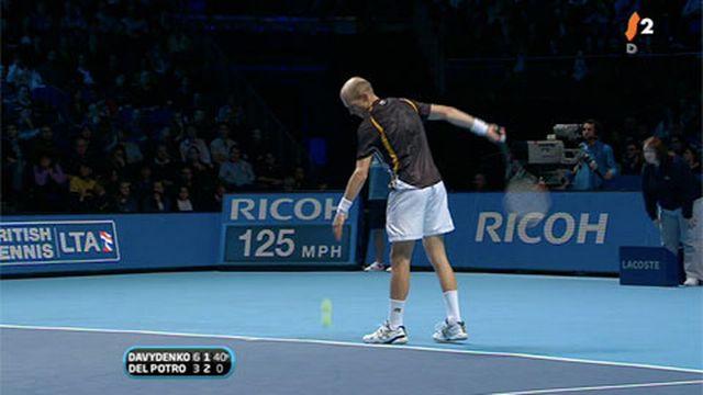Tennis / Masters (finale): Davydenko - Del Potro / le Russe impressionne toujours face à un Del Potro dubitatif