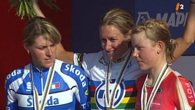Cyclisme : CHM de Mendrisio, contre la montre féminin, Kristin Amstrong