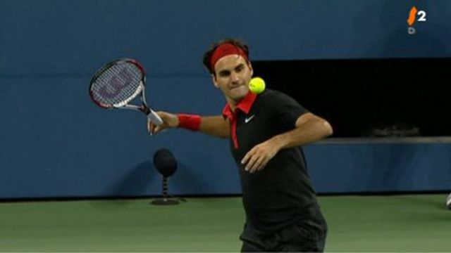 Tennis/US Open: R.Federer SUI/1 b. S. Greul ALL 6-3 7-5 7-5