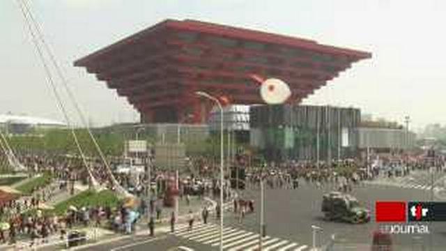 Chine: l'exposition universelle de Shanghai a ouvert ses portes au public
