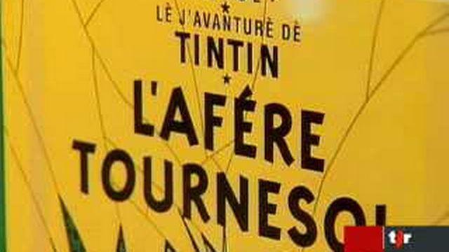 Tintin: «L'affaire Tournesol» paraît en patois gruérien