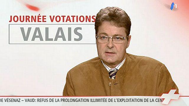 """13h45: Jean-René Fournier (PDC): """"le peuple s'accorde à dire que l'industrie de l'armement est nécessaire au pays""""."""
