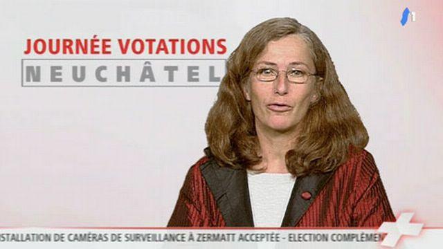 """Francine John-Calame: """"on a utilisé la peur des pertes d'emploi"""""""