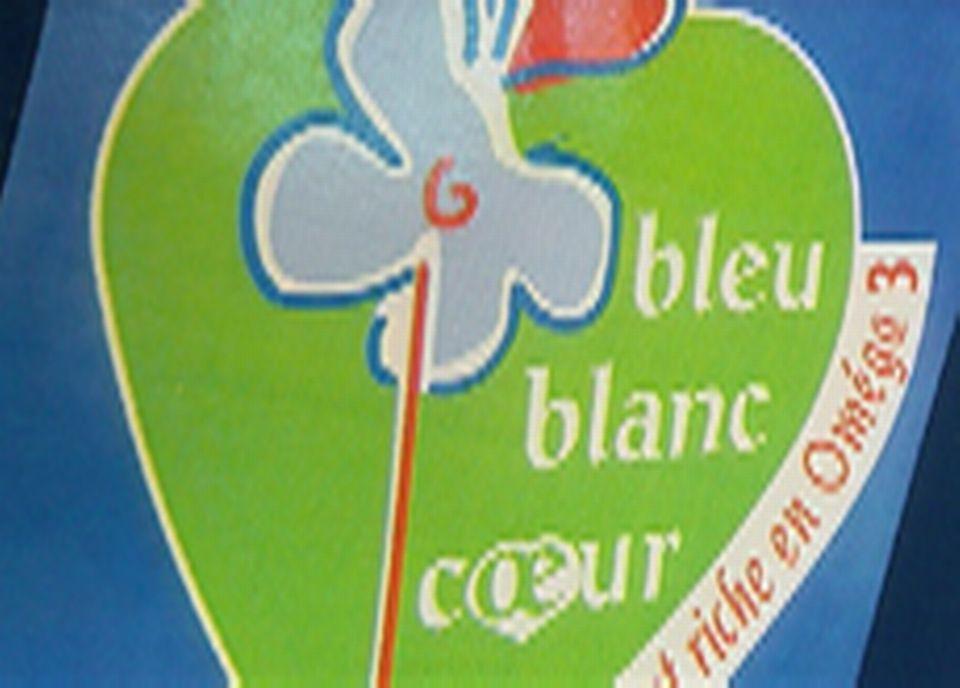 Le label bleu-blanc-coeur a été créé pour promouvoir les produits d'animaux nourris au lin