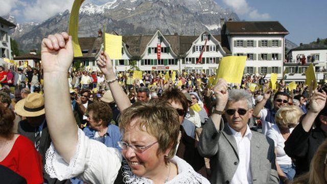 Les citoyens glaronais pourront voter dès l'âge de 16 ans [Keystone]