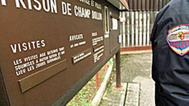 La prison de Champ-Dollon est prise d'assaut [Keystone]
