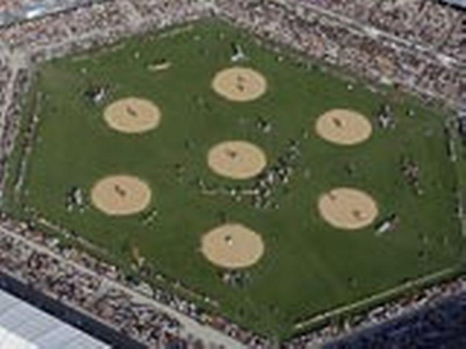 7 ronds de sciure dans un stade de 48'500 personnes à Aarau