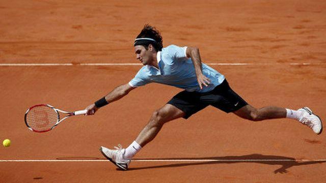 Federer a transpiré pour venir à bout de Gremelmayr. [Keystone]