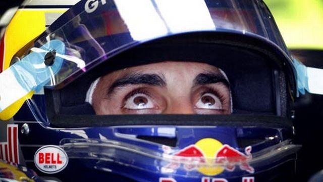 Sébastien Buemi s'élancera derrière Romain Grosjean à Valence. [Keystone]