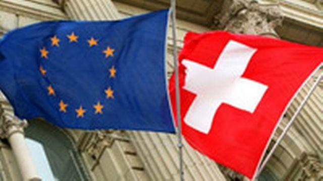 drapeau suisse europe [Keystone]