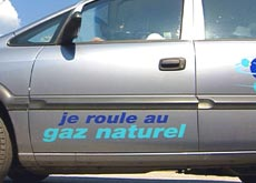 Rouler au gaz naturel comme alternative