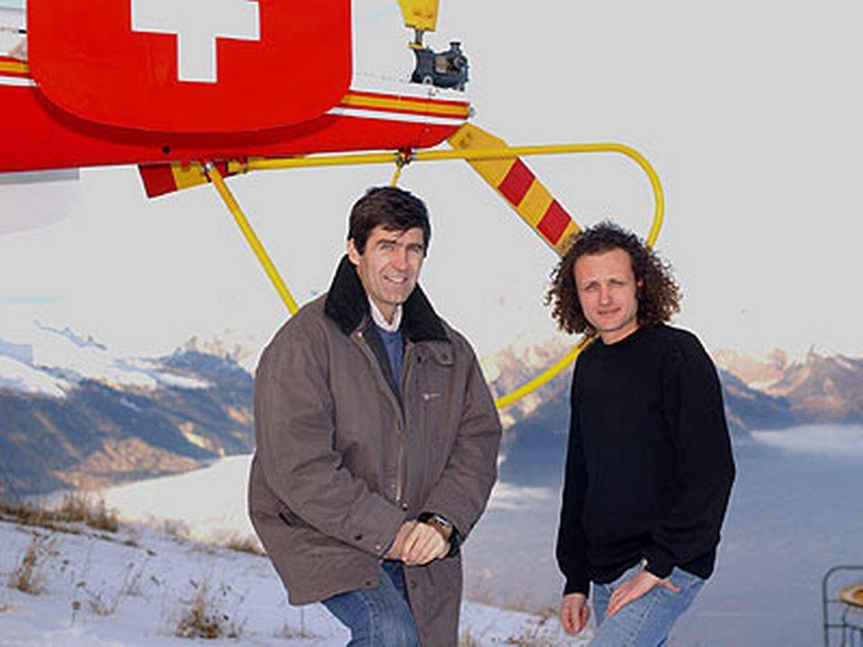 Benoît Aymon et Pierre-Antoine Hiroz