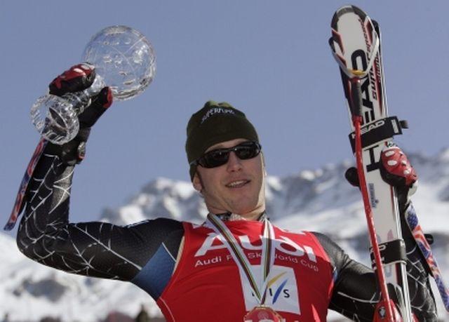 Miller remporte le globe de cristal de la spécialité pour la 2e fois [Keystone]
