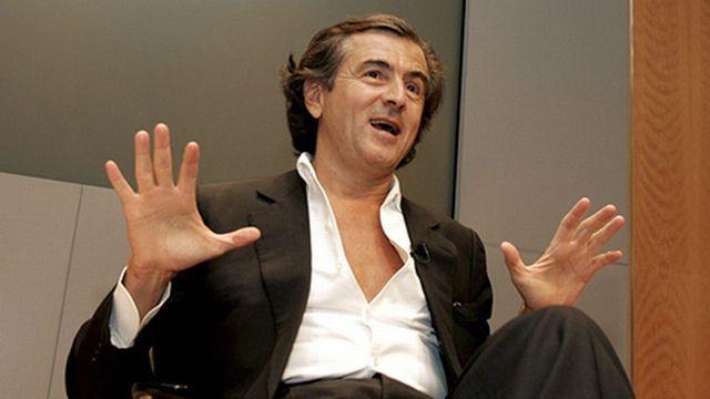 Bernard-Henri Levy est l'un des principaux soutiens de Roman Polanski. [Keystone]