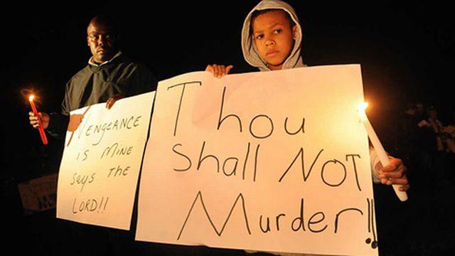 États-Unis: manifestation contre la peine de mort