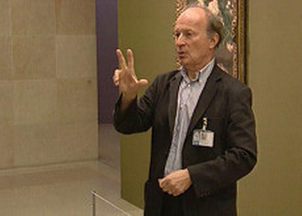 Jean-Paul Perbost, conférencier-guide sourd