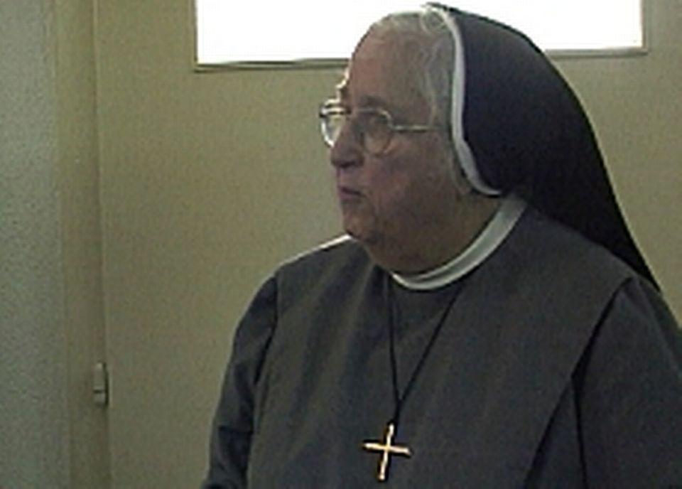Soeur Marie-Agnès, l'une des dernières enseignantes
