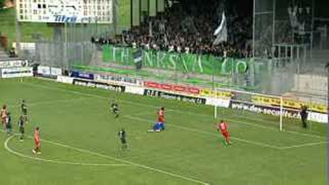Football / Super League: Sion - St-Gall (5-1)