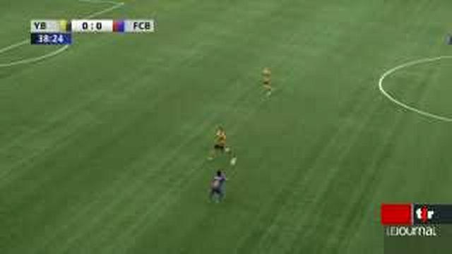 Football / Super League: Bâle s'impose finalement devant les Young Boys avec une victoire 2 à 0