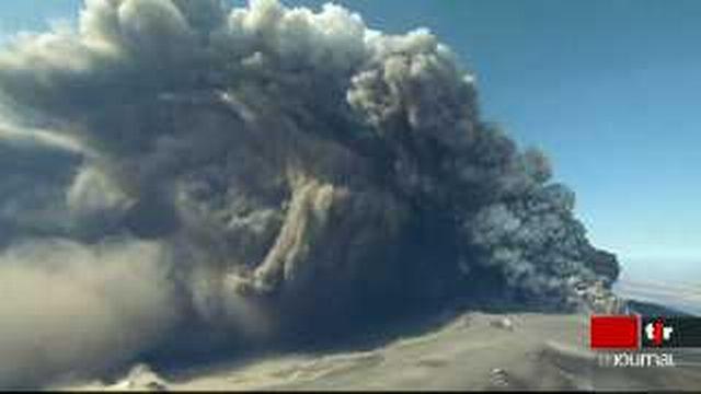 Islande: l'intensité et la durée de l'éruption du volcan Eyjafjöll est imprévisible