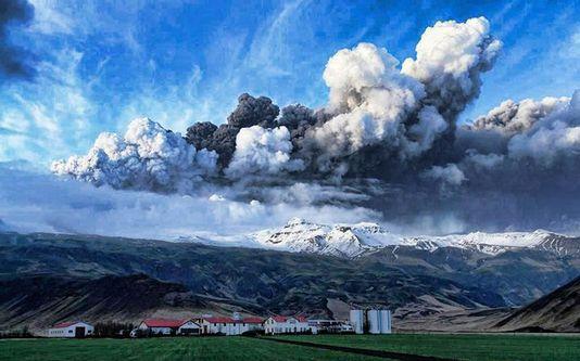 islande, volcan, eyjafjallajokull
