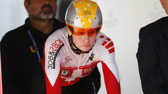 A 37 ans, Karin Thürig se bat toujours au plus haut niveau. [Keystone]