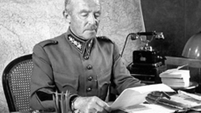 Comme Churchill ou de Gaulle, Guisan a affiché un esprit de résistance. Il utilisera le Réduit national comme une bannière, garante de cohésion et de force morale. DR
