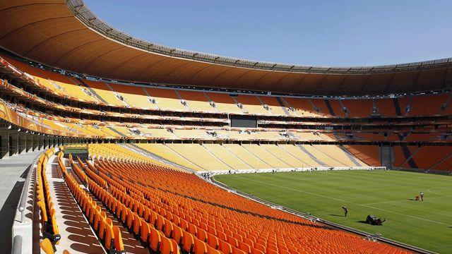 Le Soccer City Stadium de Johannesburg [KEYSTONE]