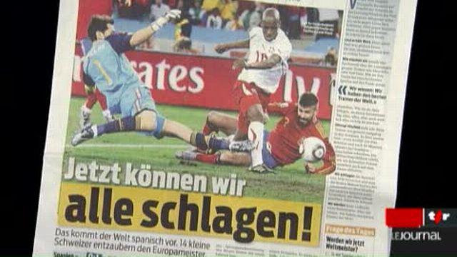 Football / Coupe du Monde: la presse suisse revient sur la victoire de l'équipe nationale