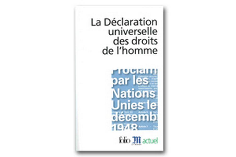 La déclaration universelle des droits de l'homme - Bettati
