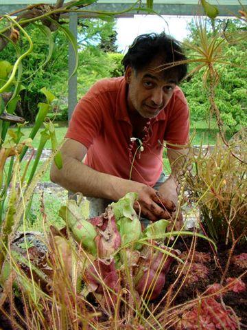 Bertrand piller horticulteur et paysagiste travaille au for Horticulteur paysagiste