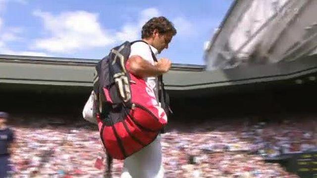 Tennis / Wimbledon: Tomas Berdych s'impose en 4 sets face à Roger Federer (6-4 3-6 6-1 6-4)