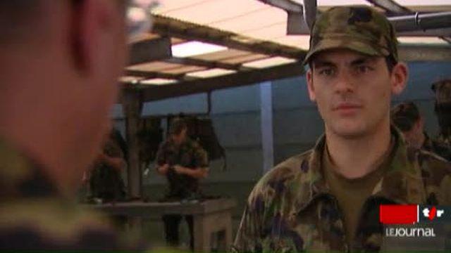 Le GSSA a lancé lundi une initiative contre l'école de recrues et les cours de répétition de l'armée suisse