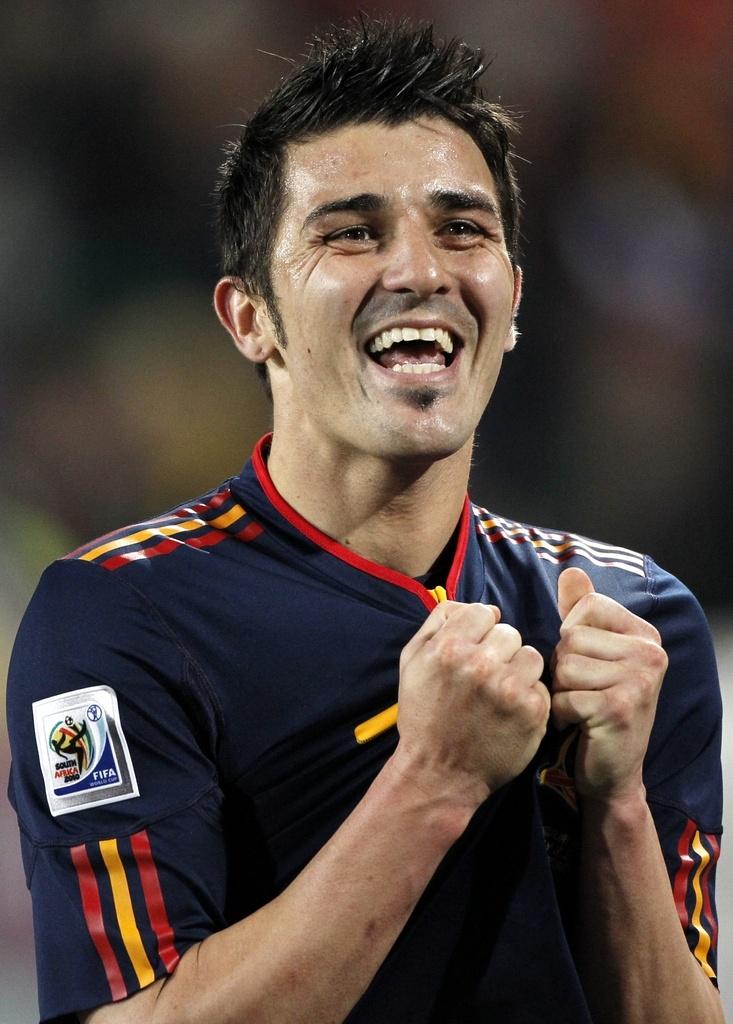 Déjà meilleur buteur de l'Euro 2008, David Villa pourrait aussi être sacré en - 2255267