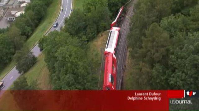 VS/déraillement du Glacier Express: les causes de l'accident restent toujours mystérieuses