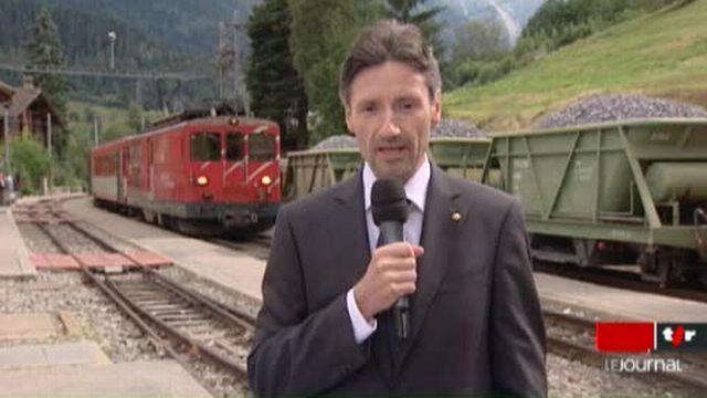 VS/déraillement du Glacier Express:entretien avec Roger Zbinden,représentant de Suisse Tourisme au Japon