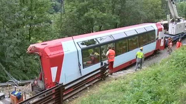 """Le """"Glacier Express"""" circule"""