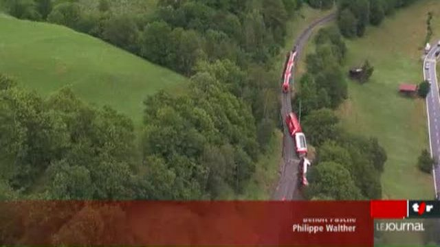 Déraillement du Glacier Express: le train touristique roulait trop vite