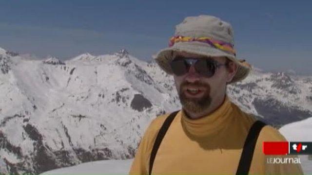 VS / Zinal: des mesures sont prises pour prévenir les effets du réchauffement climatique sur les glaciers