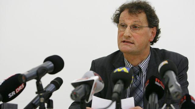 Geri Müller est l'actuel président de la commission de politique extérieure du National. [Keystone]
