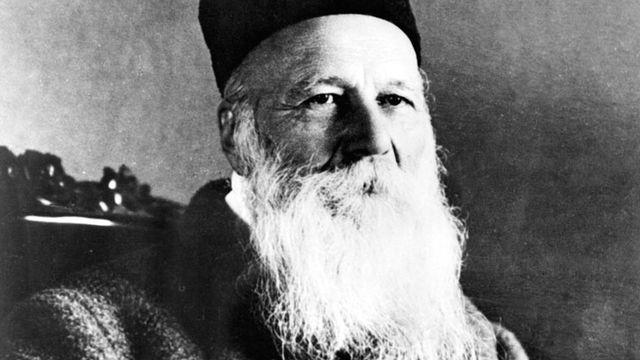 Henry Dunant, fondateur de la Croix-Rouge. [AFP]