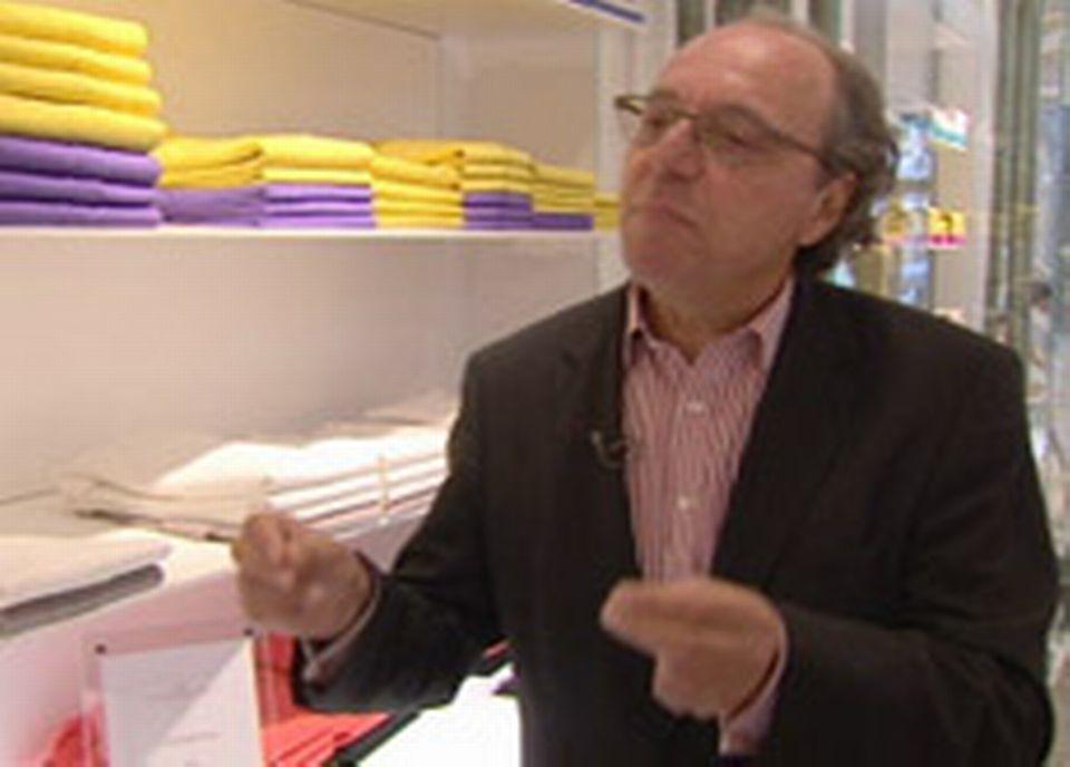 Alain Spilet, président Des Ateliers de la Maille
