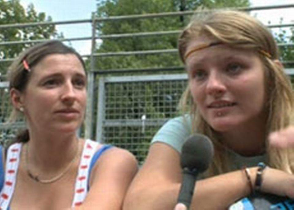 Delphine et Candy, skateuse de 20 ans