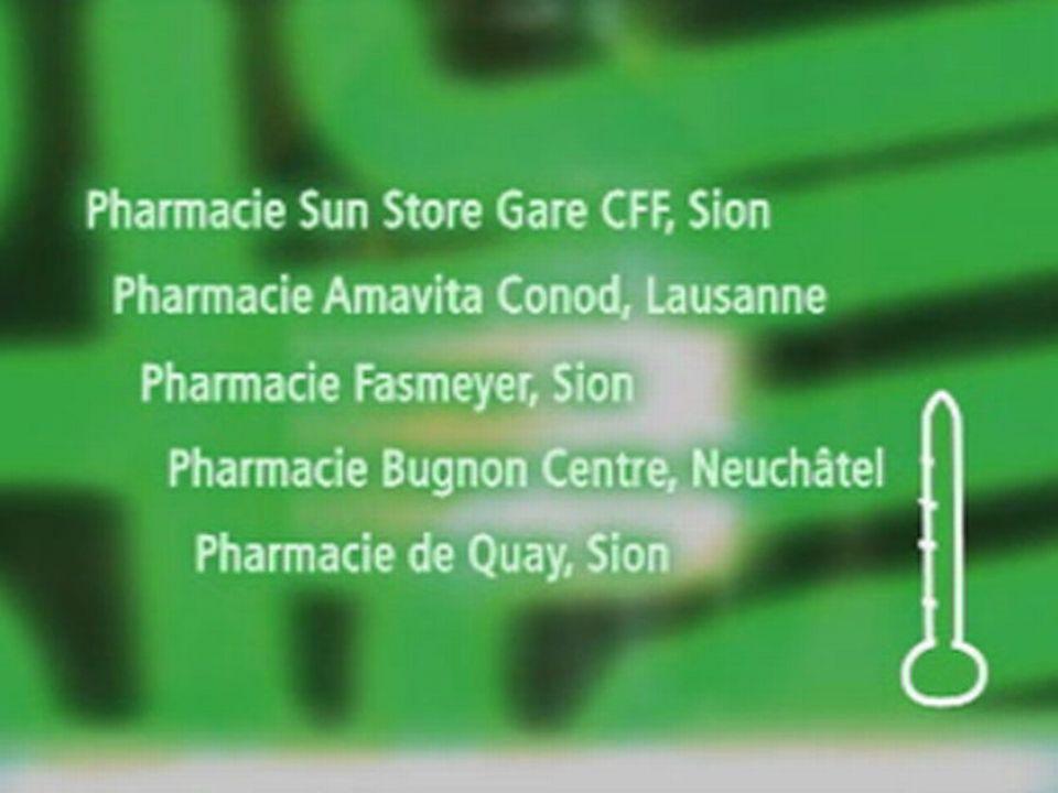 Pharmacies ayant donné spontanément des conseils avisés