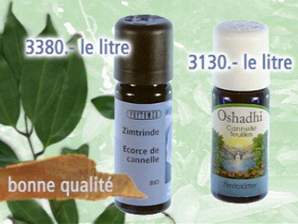 Huiles de cannelle Oshadi et Phytomed
