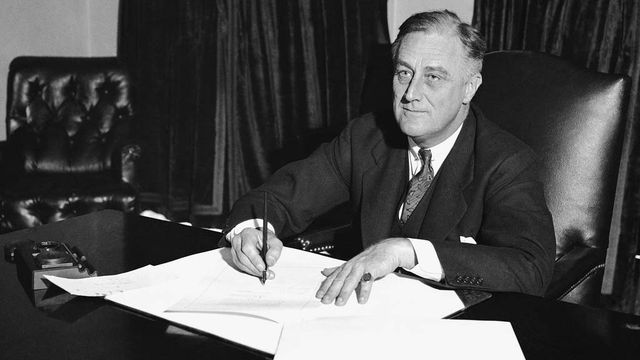 Franklin Delano Roosevelt [Keystone]