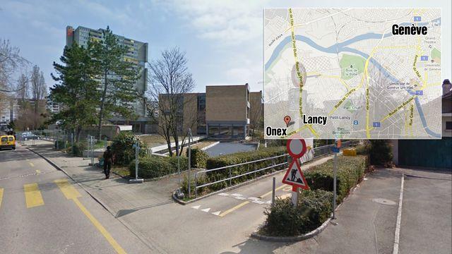 Le drame a eu lieu dans le préau de l'école de la Caroline, au Petit-Lancy.