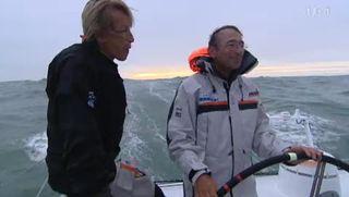 Le Mag: reportage en haute mer avec le skipper Dominique Wavre