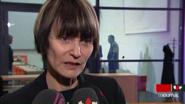 Sommet de la Francophonie à Montreux (VD): entretien avec la conseillère fédérale Micheline Calmy-Rey